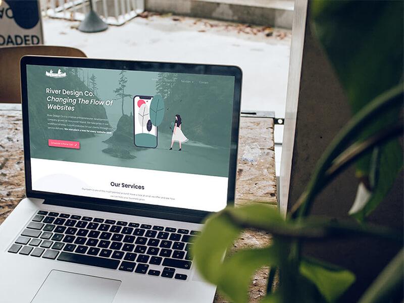 River Design Co Website