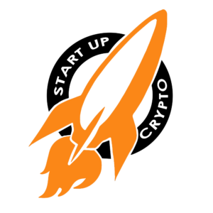 Startup Crypto River design co logo